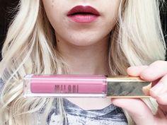 Best & Worst Drug Store Matte Lip Creams Under $10!!! Milani Amore Matte Lip Creme