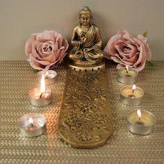 Large, 5 Slot Incense holder Incense Holder, Candle Sconces, Slot, Buddha, Wall Lights, Candles, Decor, Appliques, Decoration
