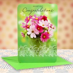 Heartiest Congratulations Card. Heartiest Congratulations.As you celebrate your happiness and feel proud.let me tell you that you deserve every bit of it..Hope this moments of glory.adds to the beautiful life you have.Warm Congratulations To You...| Rs. 85 | Shop Now | Card Size : Height :23 cm X Length : 15 cm | https://hallmarkcards.co.in/collections/shop-all/products/great-congratulations-messages