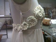 final rope pattern complete. #avantgardedress