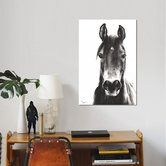 Found it at AllModern - 'Horse Portrait' Photographic Print on Canvas