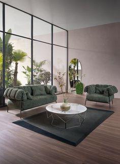 Large Furniture, Sofa Furniture, Modern Furniture, Furniture Design, Interior Styling, Interior Design, Elegant Sofa, Luxury Furniture Brands, Fabric Sofa