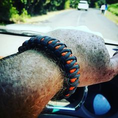 Black Gray Orange King Cobra Paracord by UltimateAdventureCo King Cobra, Black And Grey, Gray, Edc Gear, Paracord Bracelets, Everyday Carry, Survival Gear, Fathers Day Gifts, Orange