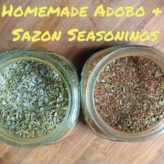 Consider the leaf TURNED.: Homemade Adobo and Sazon Seasonings - Updated with new pics! Whole30, Paleo