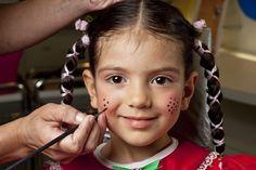 maquiagem de festa junina infantil de menina