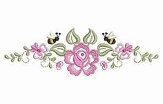 Dainty Roses 5 - 2 Sizes! | What's New | Machine Embroidery Designs | SWAKembroidery.com Ace Points Embroidery
