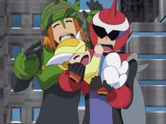 Protoman and Searchman are not paid to deal with babies. Familia Stark, Lusamine Pokemon, Proto Man, Megaman Zero, Megaman Series, Fighting Robots, Star Force, Mega Man, Game Character