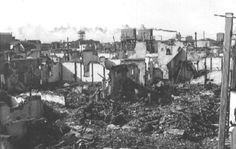 1937年9月12日,闸北被攻陷后的房子