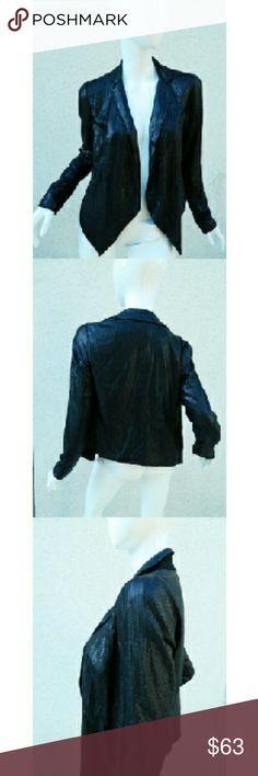 MADEWELL Buckley Tailors Blazer Sequin jacket MADEWELL Buckley Tailors Blazer Black Sequin jacket fly away blazer Sz 2 Buckley Jackets & Coats Blazers