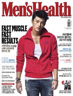 Seo In Guk September '13 Men's Health Korea Magazine
