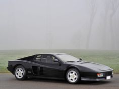 1989 Ferrari Testarossa | 180° V12, 4 943 cm³ | 380 HP | Design: Leonardo Fioravanti, Ian Cameron, Guido Campoli, Emmanuele Nicosia... Pininfarina