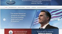 Mitt Romney President elect website goes live after his defeat! Republican circus continues! Source: www.news.com.au