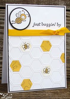 Stampin' Up - Just Buzzin' By  Creative Crafts by Lynn