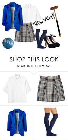 """Veronica Sawyer Heathers"" by fun-03 on Polyvore featuring Monki, Burberry, Charlotte Russe and Rockwood"