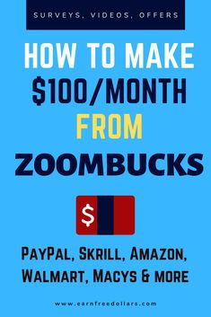 Are you looking to make money from surveys daily? Read more to learn how to make money daily by taking surveys on Zoombucks. Best Online Survey Sites, Online Surveys For Money, Survey Sites That Pay, Make Money Online, Get Paid Online, Online Jobs, Money Making Websites, Take Surveys, Making Extra Cash