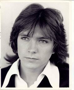 David Cassidy feathered and handsome
