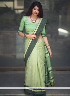 Buy online latest saree, finest collection of designer saree. Buy this cotton   casual saree for casual. - Saree
