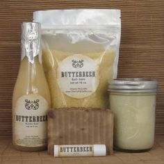 Harry Potter Butterbeer Bath and Body Gift Set by EscentuallyGeeky