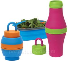 COLLAPSIBLE WATER BOTTLE. Great website with a lot of fun stuff for home and gifts!