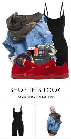 """Untitled #207"" by trillest-qveen247 on Polyvore featuring SPANX and Puma"