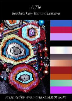 Work by my school friend Tamuna Lezhava  WEBSITE:   www.lezhava-beads...