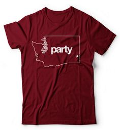 Party Tee Crimson