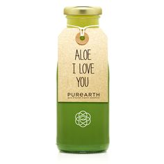 Love is in the air! Have you tried our green Aloe Vera beauty tonic? This drink contains high amounts of live enzymes through kefir live probiotics. Aloe vera is crammed full of amino acids, vitamins and minerals making it one of nature's most effective cleansers. It can help help strengthen your immune system and digestion, helping rid the body of toxins by detoxifying the body naturally. Aloe we really do love you!  #aloevera #aloe #iloveyou #aloeiloveyou #madewithlove #purearth…