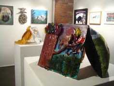 """""""Supercalifragilistic""""; for the 2012 SPARK! Festival, Studio C explores animal, vegetable and mineral, presenting a variety of nature-inspired artworks by Calgary artists with disabilities. #sparkfestival #disabilityart"""