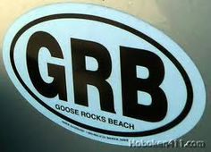 Goose Rocks Beach....