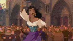 Screencap Gallery for The Hunchback of Notre Dame Bluray, Disney Classics). In century Paris, Clopin the puppeteer tells the story of Quasimodo, the misshapen gentle-souled bell ringer of Notre Dame, who was nearly killed as Disney Pixar, Disney Bows, Disney Girls, Disney Art, Disney Movies, Disney Characters, Disney Princesses, Esmeralda Disney, Pierre Auguste Renoir