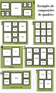 Organizando quadros na parede Quadros - Blog Pitacos e Achados - Acesse: https://pitacoseachados.wordpress.com – https://www.facebook.com/pitacoseachados – https://plus.google.com/+PitacosAchados-dicas-e-pitacos https://www.h2h.com.br/conselheirapitacosachados #pitacoseachados