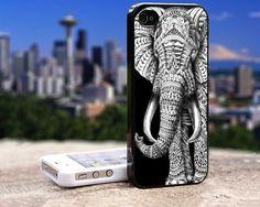 ornate elephant iphone 4 case