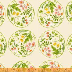 Heather Ross :::  Tiger Lily ::: Blumenornament 2 von treuepfand DIY auf DaWanda.com