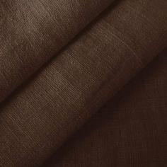 100% Leinen Stoff Meterware Dunkel-Braun: Amazon.de: Küche & Haushalt