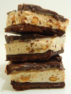 Choc Top Caramel Slice  #MummyMadeIt