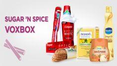 Influenster Program: Sugar & Spice VoxBox
