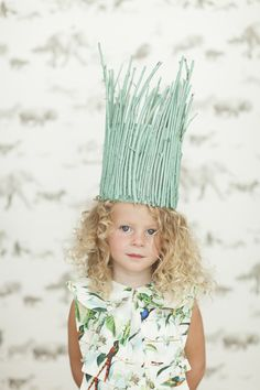 Twig Crown from Merrilee Liddiard's book PLAYFUL; photo by Nicole Gerulat #playfultoysandcrafts