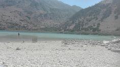 Kournas Lake treated me kind
