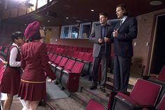 Dean and Sam meet the fans - BuddyTV Slideshow | 'Supernatural' 200th Episode Photos: 'Supernatural: The Musical'