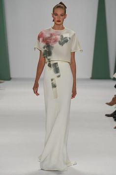 Carolina Herrera, colección RTW SS'15. Semana de la Moda de Nueva York.