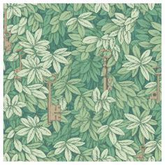 Cole & Son - Fornasetti II Chiavi Segrete Wallpaper - Green