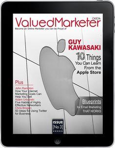 Download ValuedMarketer Magazine issues January 2014 iTunes: https://itunes.apple.com/us/app/valuedmarketer-magazine-become/id709724297?l=pl&ls=1&mt=8  Website: http://magazine.valuedmarketer.com