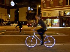This Glow-In-The-Dark Bike Could Save Your Life | Co.Design | business + design