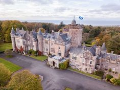 Staying at Glenapp Castle is like living a real-life fairytale. From the moment you arrive at its regal gates, true magic awaits. Scotland Tours, Scotland Travel, Edinburgh Scotland, Scotland Castles, Scottish Castles, Stay In A Castle, Unusual Things, Dark Skies, Staycation
