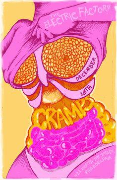 cramps poster - Recherche Google