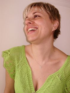 Lime is my favourite colour!!! that's why this summer bolero had to be lime!
