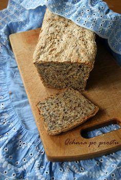 Chleb pszenny z siemieniem lnianym i słonecznikiem Bread, Food, Brot, Essen, Baking, Meals, Breads, Buns, Yemek
