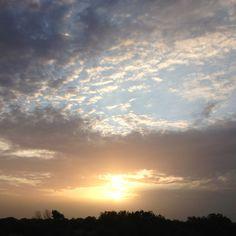 Fort Worth,Tx sunrise 6-3-12