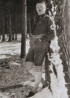 Retronaut - Hitler in shorts
