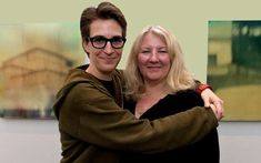 Rachel Maddow's Life Away From The News Desk Is As Unconventional As Her Show Golf Magazine, Rachel Maddow, Desperate Housewives, Marriage Relationship, Relationships, First Novel, News Media, Love At First Sight, Celebrity Couples